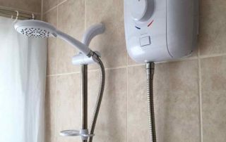 Electric Shower installation in Maidstone Kent
