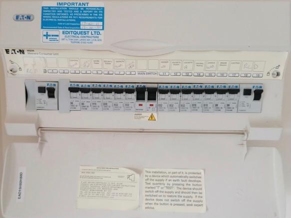 Eaton RCD Consumer Unit