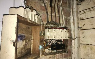 Old Wooden Fusebox