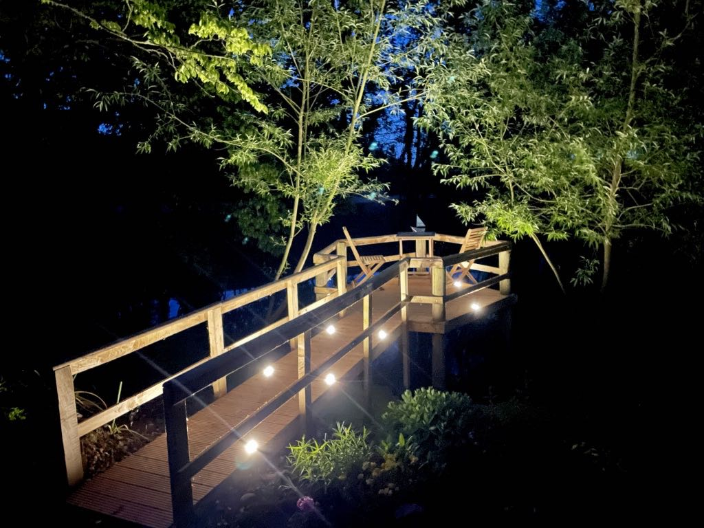 Jetty Decking LED Up-Lights